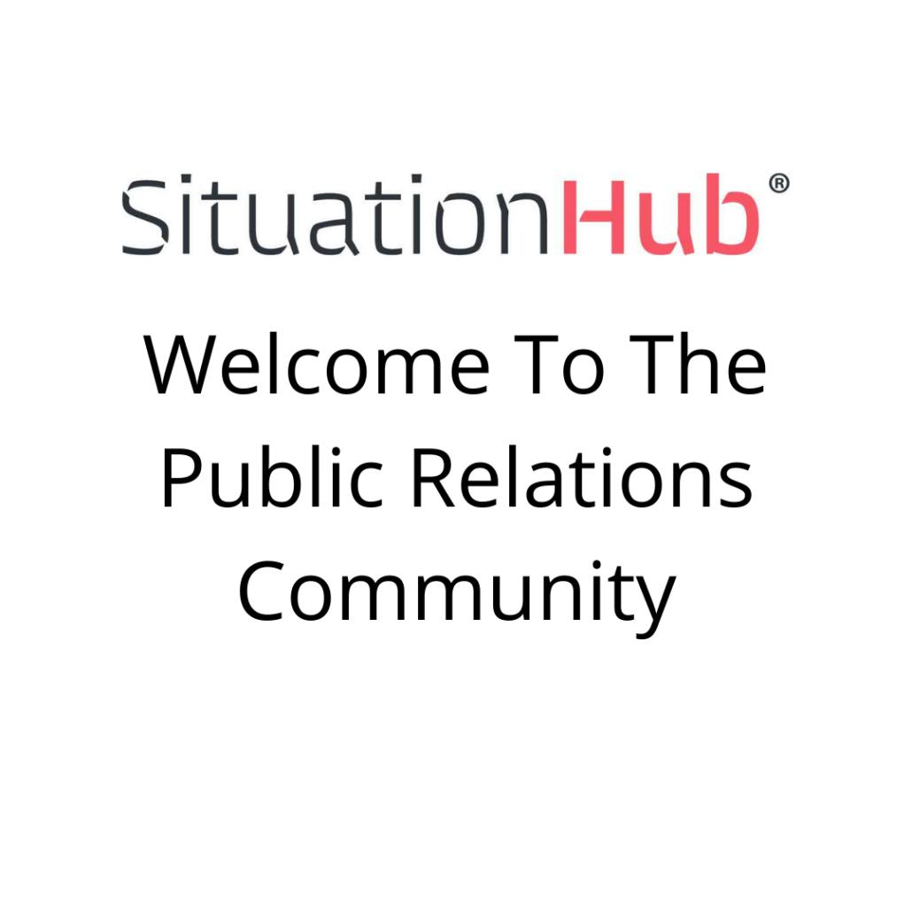 Welcome Blog PR