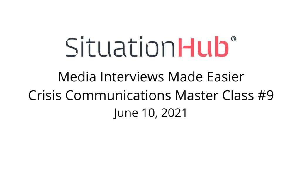 Media Interviews Made Easier